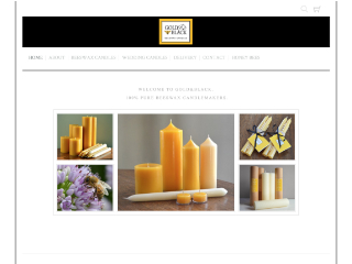 Gold And Black Candles